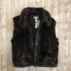 NEW H & M | Faux Fur Jacket